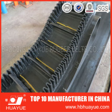 Heavy-Duty Transportation Corrugated Sidewall Cleated Conveyor Belt
