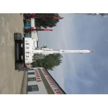 Дом фундамент квадратный столб свайной машины