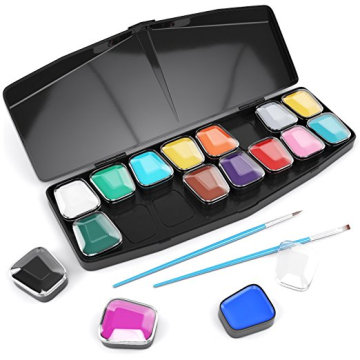 Kit per la pittura del make-up per il corpo