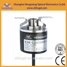 10mm rotary switch encoder- K38-J Series Hollow Shaft Encoder