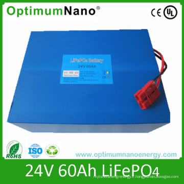 Batteries rechargeables LiFePO4 24V 60ah