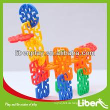 Plastikblöcke scherzt Spielwaren mit schönem Art LE.PD.076