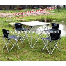 Алюминиевый кемпинговый стол и стулья fihsing