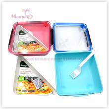 Bento Plastic Lunch Box Food Storage Box (1000ml)