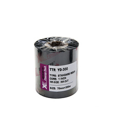Direct Factory YD 300 Black Premium Resin Thermal Transfer Ribbon-70mm*300m