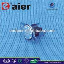 Daier KSD301 Thermostat 16A 250V 10 / 5A KCD301M-OR2 50 degrés ~ 180 degrés réarmement manuel avec 2 vis