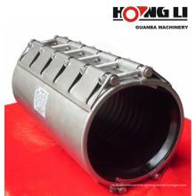 Braçadeira de tubo de aço inoxidável RCD, user-friendly, fácil instalação