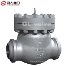 Carbon Steel Swing Check Valve Weleded Ends