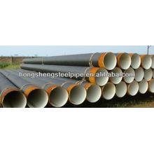 2PE / 3PE ERW Tubo de aço anti-corrosão / tubo