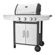 Three Burner Gas BBQ With Side Burner