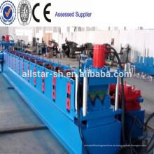 Aprobado CE & ISO PLC Control y estación hidráulica Metal barandilla de la máquina formadora, barandilla Roll formando equipo