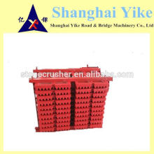 PE250X400 jaw plates( fixed and movable) for SHANBOO jaw crusher with good price