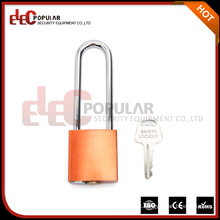 Elecpopular Yueqing OEM Products 41mm Lock Body Long Shackle Segurança Alumínio Cadeado