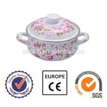 Cacerola de cerámica del cookware del esmalte de la cazuela del esmalte Cazuela de cerámica del cookware del esmalte de la cazuela del esmalte
