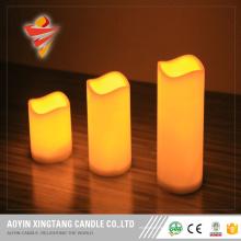 Беспламенные светодиодные свечи для свадебных центральных