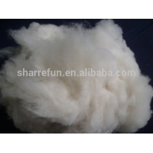 high quality 100% pure dehaired Mongolian cashmere fiber white