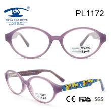 2015 Popular New Design Beautiful Eyeglass Frame for Woman (PL1172)