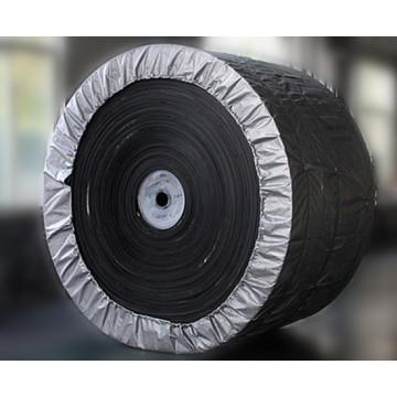 Bande transporteuse en acier résistant à la déchirure de la corde en caoutchouc