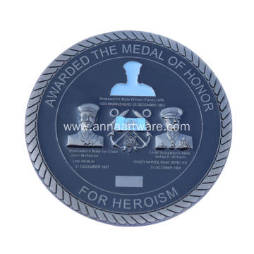 Custom Challenge Coins with Ruffled Bevel Edges