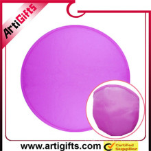 Promotional cute polyester frisbee
