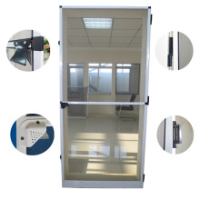 Germany Style Aluminum Alloy Fly Screen Door