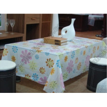 Flower Design Table Cover