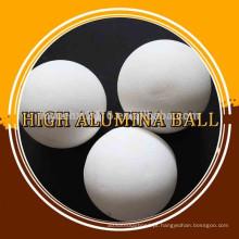 Bola de moagem de alúmina média de 75% de alta densidade