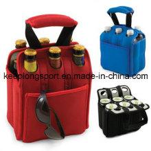 Custom Neoprene Six Bottle Coolers /Holder (HYB294)