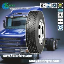 Le pneu de camion de deruibo de haute qualité 295 / 80r22.5, pneus de camion de marque de Keter avec de hautes performances, prix compétitifs