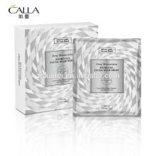 Hoja de máscaras faciales de gel New Design Korea Mask Pure Gel