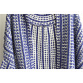 100% Acrylic Opean Patterned Ladies Cardigan