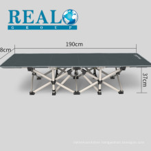Wholesale Furniture Best Price Convenient Portable Metal Army Military Guest Cot Folding Bed