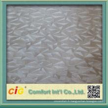 Mode nouvelle conception haute qualité nouveau Crocodile en relief PVC cuir pour canapé sac