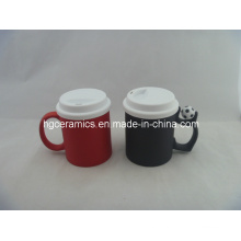 Color Change Mug with Silicon Lid