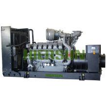 AC triphasé Générateur diesel d'urgence Avec les cummins Perkins Volve MTU