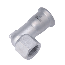 Stainless Steel Short Elbow 90 Degrees Female