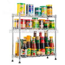 Estante multifuncional barato de la especia de la cocina de Ikea para la venta, aprobación de NSF