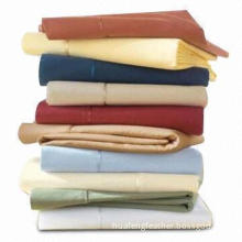 Pillow Covers, Made of 200T or 100% Cotton Fabric, Satin Piping, Various Sizes are Available