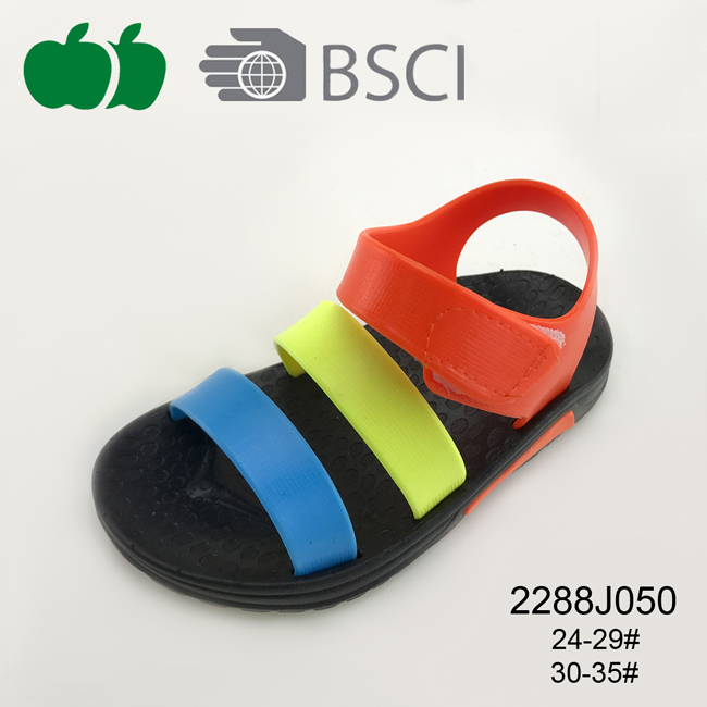children's plastic sandals