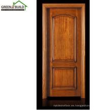 Diseños de puerta de madera clásica de teca de guangzhou