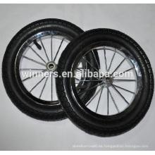 Rueda de goma de la bicicleta de la balanza del aire de 10 pulgadas 12 pulgadas
