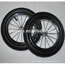 Roda da bicicleta do equilíbrio da borracha de ar de 10 polegadas 12 polegadas