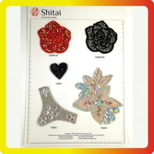 OEM/ODM for Hot Fix Number Patch Rose rhinestone patches for hot sales supply to United States Wholesale