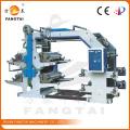 4 Farbe 600mm Breite Flexo Druckmaschine (CE)
