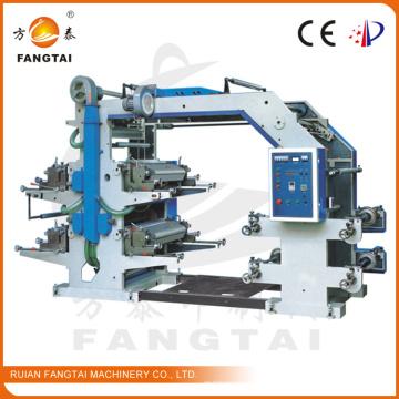 Machine d'impression de Flexo large de la couleur 600mm (CE)