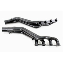 High Temperature Resistant Black Coated Exhaust Header