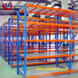 CE Approved Blue&Orange Color Metal Shelf Rack for Industrial Warehouse Storage Solution