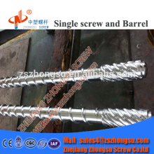 Bimetal screw & barrel for plastic products processing machinery bimetal vented screw barrel
