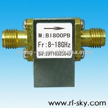BI800PB_8-18G hochwertiger 8-18GHz RF Breitband Isolator SMA / N Stecker