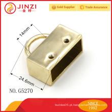 Atacado luz ouro wide lock forma saco montagem para acessórios saco